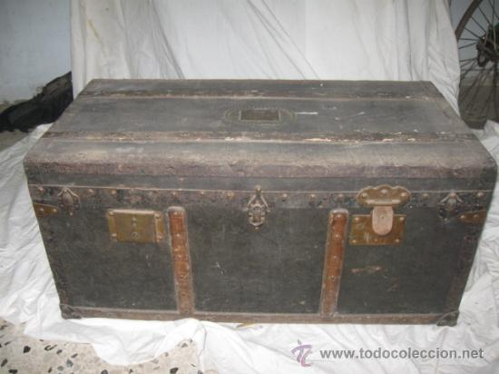 Quex Antiguadades Baules Antiguo Baul De Comprar Baules - Baules-antiguos
