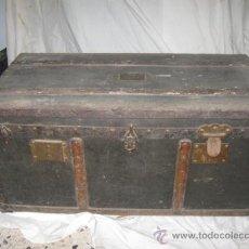 Antigüedades: QUEX - ANTIGUADADES - BAULES - ANTIGUO BAÚL DE VIAJE 2. Lote 78040393