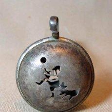 Antigüedades: SONAJERO DE PLATA, SIGLO XIX, PRECIOSO. Lote 17037990