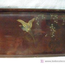 Antigüedades: BANDEJA DE LACA DE PPS. DEL XX. Lote 26758405