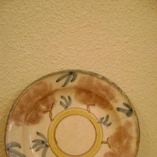 Antigüedades: PLATO DE RIBESALBES SIGLO XIX. Lote 26553190