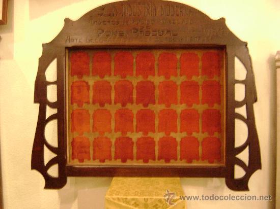 Antigüedades: MARCO MODERNISTA VALENCIANO - Foto 3 - 26002595