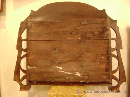 Antigüedades: MARCO MODERNISTA VALENCIANO - Foto 4 - 26002595