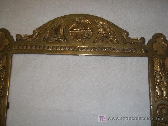 Antigüedades: MARCO DE SACRA EN BRONCE del XIX - Foto 4 - 27062880