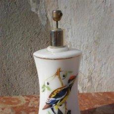 Antigüedades: PERFUMERO EN CRISTAL OLALINO. Lote 17206997