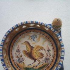 Antigüedades: MAGNIFICA PIEZA DE CERAMICA DE TRIANA SIGLO XIX. Lote 26468234