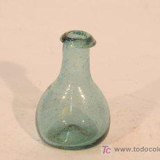 Antigüedades: FIGUETA EN VIDRIO VERDE SOPLADO CATALÁN. S.XIX. Lote 17424198