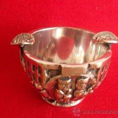 Antigüedades: BONITO CENICERO VALMAZÁN. PLATA?. Lote 26946713