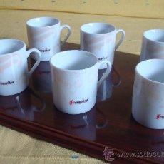 Antigüedades: JUEGO TAZAS DE CAFÉ FRANGELICO. Lote 26890858