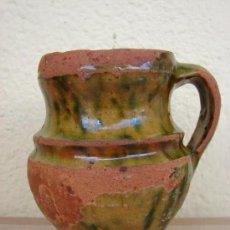 Antigüedades: JARRITA DE CERAMICA DE SAN FRONTIS. ZAMORA. SIGLO XIX. Lote 27252962