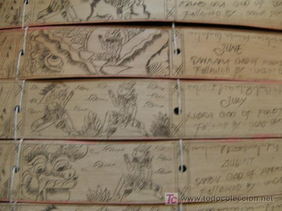 Antigüedades: calendario balines - Foto 3 - 27631619