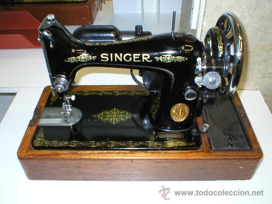 Maquina de coser singer antigua mod. 99k, con m - Vendido