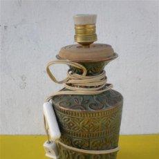 Antigüedades: LAMPARA DE CERAMICA. Lote 17474002