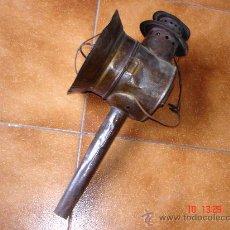 Antigüedades: ANTIGUO FAROL DE CARRO. Lote 26741422