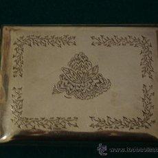 Antigüedades: ANTIGUA PITILLERA DE PLATA. Lote 26592710