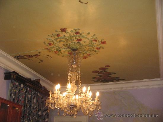 Antigüedades: Gran lampara de araña IDEAL PARA TIENDA O VIVIENDA - Foto 2 - 26353480