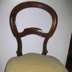 Antiquitäten - Pareja de sillas isabelinas - 27291023
