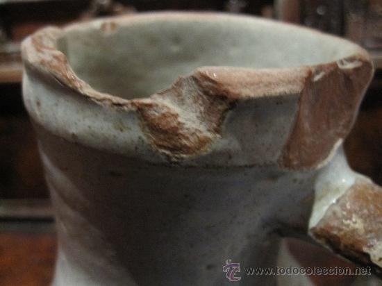 Antigüedades: PRECIOSA JARRA DE TALAVERA DEL S. XVII, CON ESCUDO DE LA ORDEN CARMELITA - Foto 5 - 17641200
