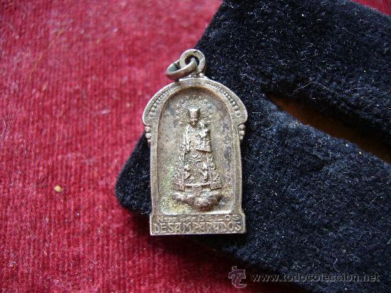 MEDALLA RELIGIOSA ANTIGUA DE VIRGEN DE LOS DESAMPARADOS (Antigüedades - Religiosas - Medallas Antiguas)