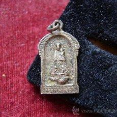 Antigüedades: MEDALLA RELIGIOSA ANTIGUA DE VIRGEN DE LOS DESAMPARADOS. Lote 17743889