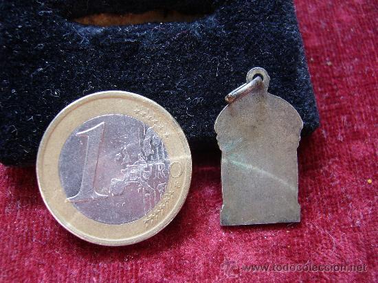 Antigüedades: Medalla religiosa antigua de virgen de los Desamparados - Foto 2 - 17743889