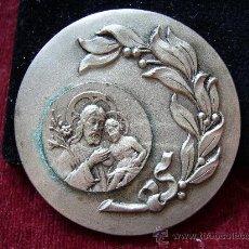 Antigüedades: MEDALLA RELIGIOSA ANTIGUA DE SAN JOSÉ. Lote 17744006