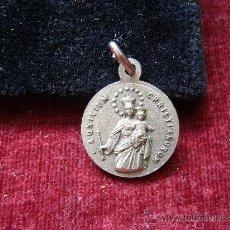Antigüedades: MEDALLA RELIGIOSA ANTIGUA DE VIRGEN. Lote 17746867