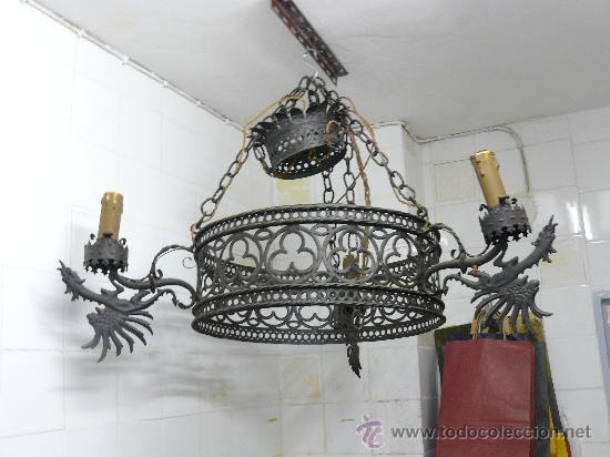Lampara antigua de techo comprar l mparas antiguas en - Venta de lamparas antiguas ...