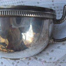 Antigüedades: TAZA DE PLATA. Lote 26363952