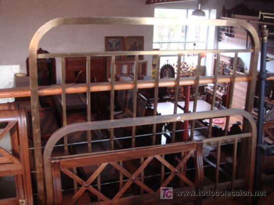 CAMA DE METAL (Antigüedades - Muebles Antiguos - Camas Antiguas)