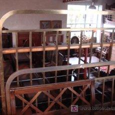 Antigüedades: CAMA DE METAL. Lote 27510443