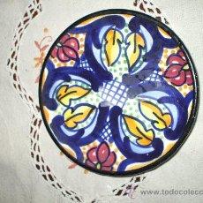Antigüedades: PLATO DE TALAVERA MIDE 14 CENTIMETROA. Lote 17779515