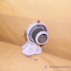 Antigüedades: APLIQUE BAÑO DE CERAMICA BLANCO. Lote 17822226