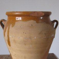 Antigüedades: ORCITA CERAMICA POPULAR PARCIALMENTE VIDRIADA. Lote 26577909