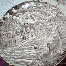 Antigüedades: PLATO DE CERAMICA DE PONTESA. Lote 25847797