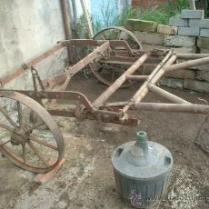 Antigüedades: CARRO ANTIGUO. Lote 26446068