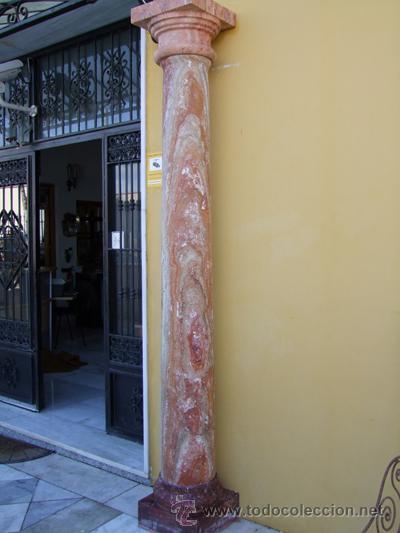 COLUMNA TRAVERTINO REF.4530 (Antigüedades - Varios)