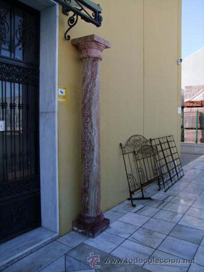 Antigüedades: COLUMNA TRAVERTINO REF.4530 - Foto 5 - 20258006