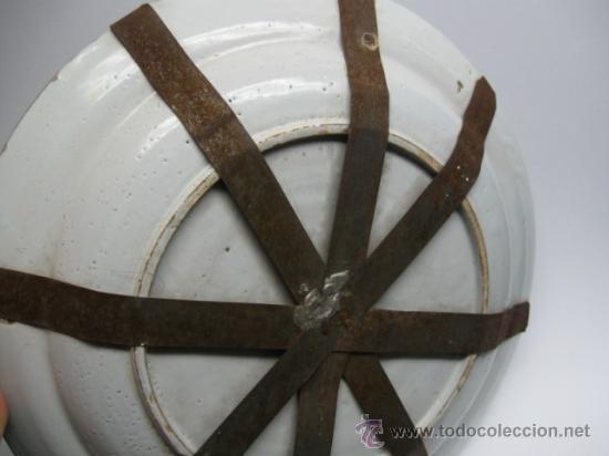 Antigüedades: PRECIOSO PLATO DEL SG.XVII - XVIII. MIDE 31 CM.CERAMICA DE DELFT HOLANDA, VER FOTOS - Foto 4 - 17916923