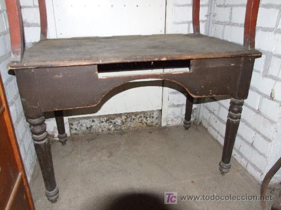 Mesa despacho rustica para restaurar comprar mesas de despacho antiguas en todocoleccion - Venta de muebles antiguos para restaurar ...