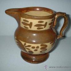 Antigüedades: ANTIGUA JARRA EN CERAMICA REFLEJOS, VALENCIANA DE MANISES. HACIA 1950. Lote 26631629