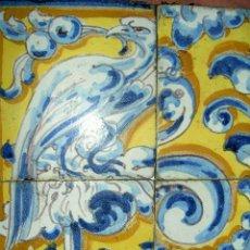 Antigüedades: AZULEJO TRIANERO DE MENSAQUE. Lote 26326022