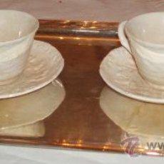 Antigüedades: 2 TAZAS DE CAFÉ INGLESAS DE FORTUNE MASONS SIGLO XLX. Lote 26896183