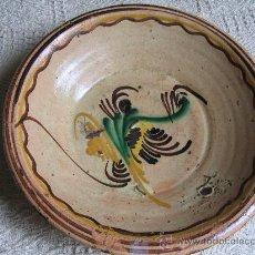 Antigüedades: PLATO CERÁMICA PUENTE ARZOBISPO (TOLEDO) SERIE PALMETAS S M. S. XIX. Lote 26662138