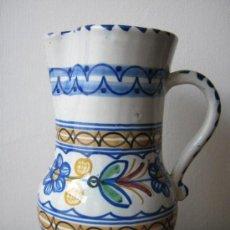 Antigüedades: JARRA DE TALAVERA FIRMADA AÑOS 70. Lote 27638228