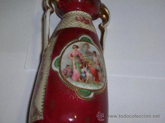 Antigüedades: JARRON EN PORCELANA DE SELB.h.1900.MARCAS EN LA BASE. - Foto 2 - 26189953