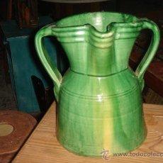 Antigüedades: GRAN JARRA DE TITO ÚBEDA (JAÉN). FIRMADA. ALTURA: 25.5 CMS.. Lote 27325286