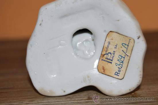 Antigüedades: FIGURA DE PORCELANA - PERRO - AÑOS 60 - PORCELANAS PALES - Foto 4 - 26861021