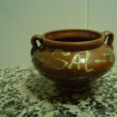 Antigüedades: SALERO CERAMICA. Lote 18198741