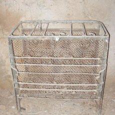 Antigüedades: CAMA ABATIBLE DE HIERRO. Lote 18204307